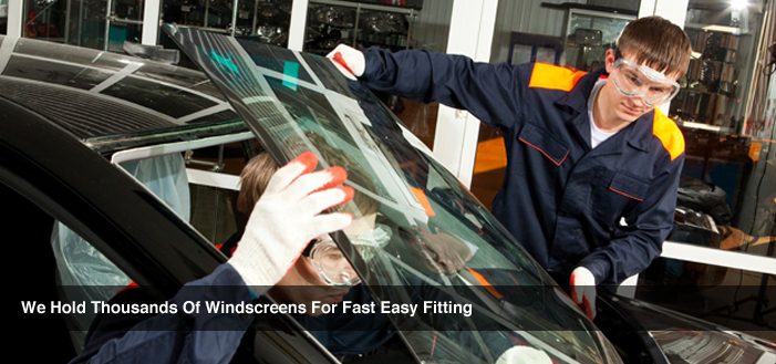 We hold thousands of windscreens for fast, easy fitting