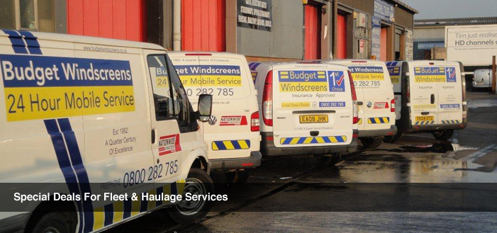 Special services for fleet and haulage vehicles