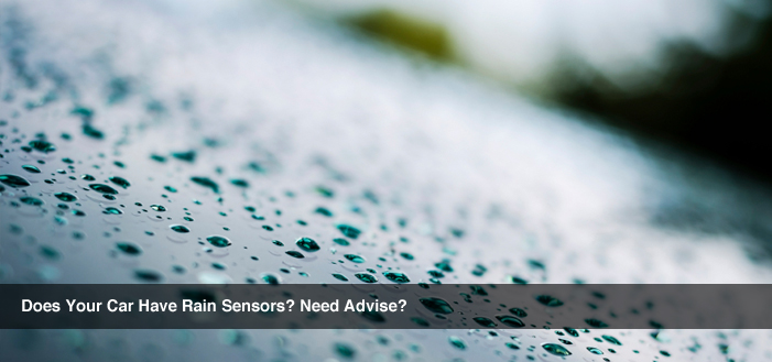 Does your car have rain sensors? Need advice?
